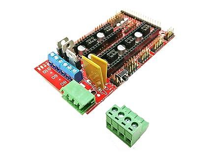 BITBOT3D© RAMPS 1.4 Shield para REPRAP, MENDEL, PRUSA, ANET, ANYCUBIC, Arduino 2560 - Impresora 3D …