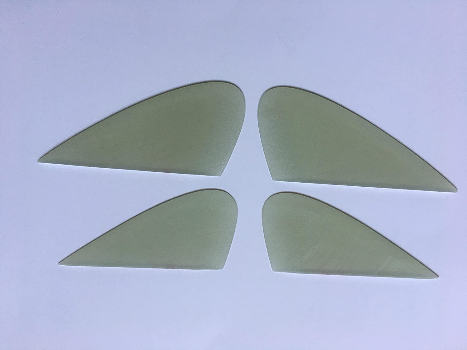 Pacific Vibrations BONZER Surfboard RUNNERS GLASS ON  SOLID GLASS 2