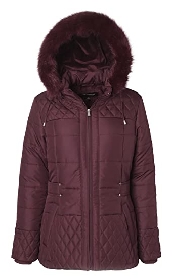 Sportoli Women's midlength down alternative puffer
