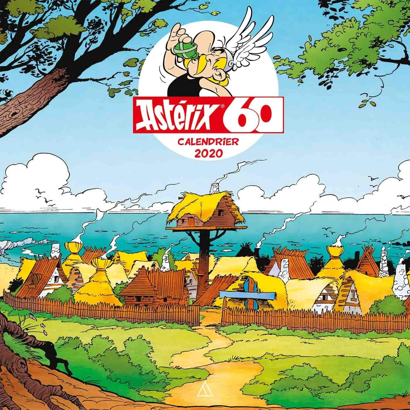 Calendrier mural - Astérix + stickers - septembre 2019 81DZb%2BKHG1L._AC_SL1500_