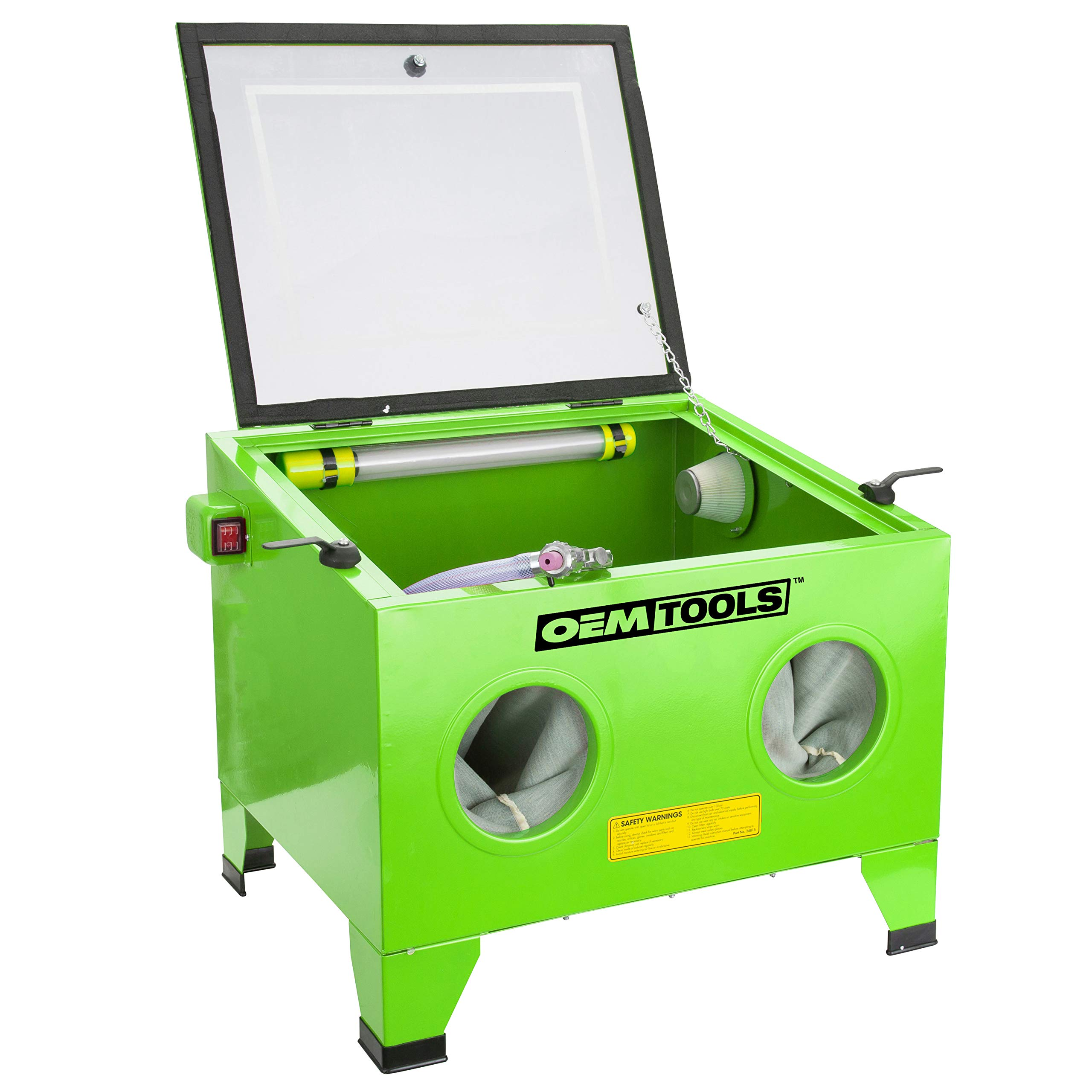 OEMTOOLS 24815 Bench Top Abrasive Blast Cabinet by OEMTOOLS (Image #1)
