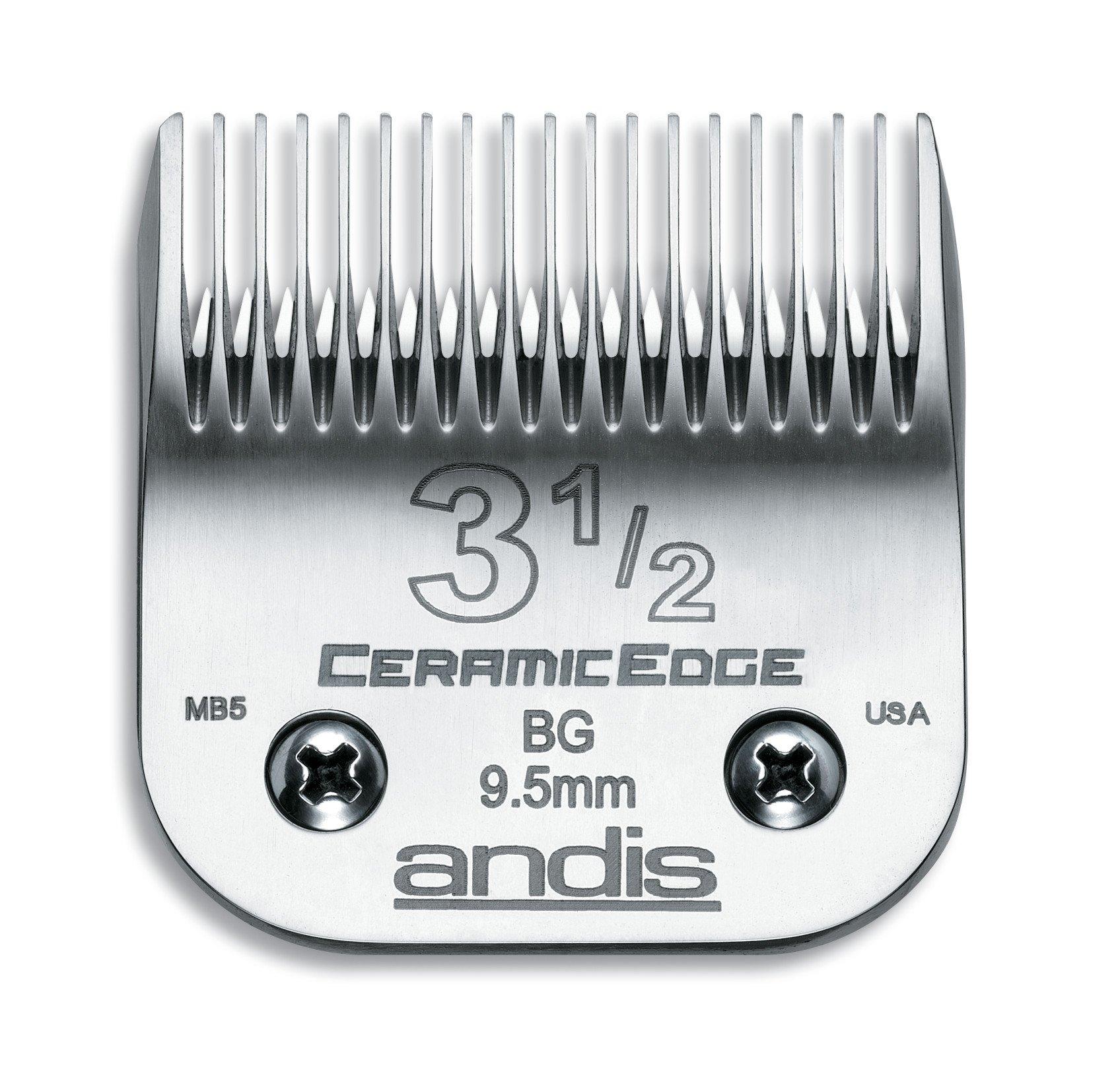 Cuchillas : Andis 3 1/2 Ceramic Edge 63040 Reemplazo