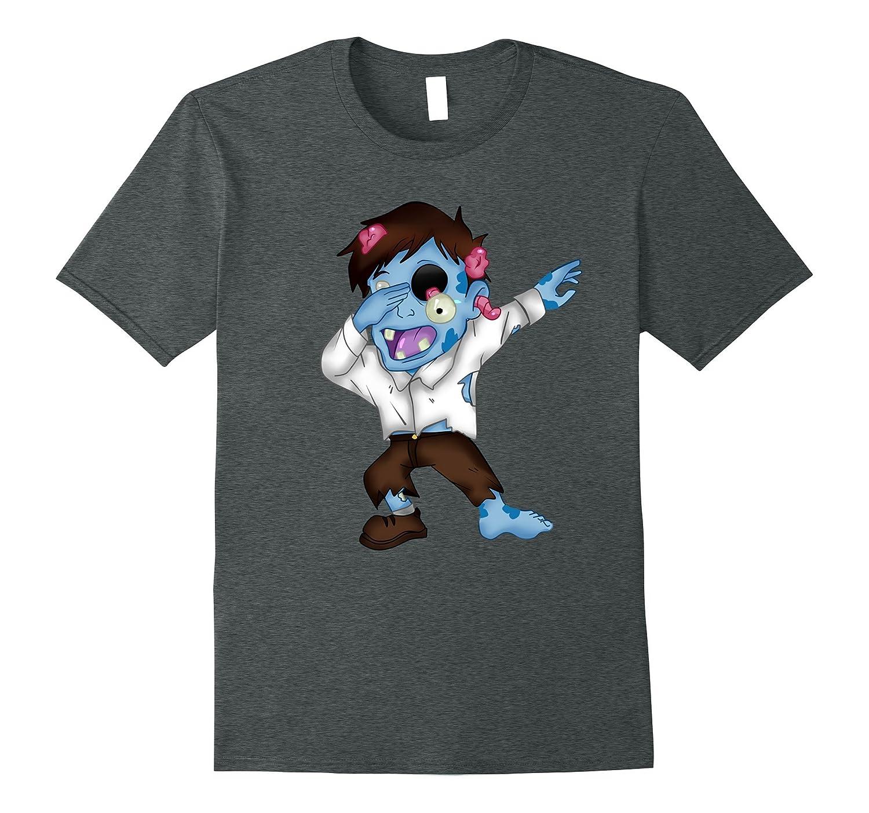 Funny HALLOWEEN COSTUME ZOMBIE DABBING DANCE T-shirt gift-Art