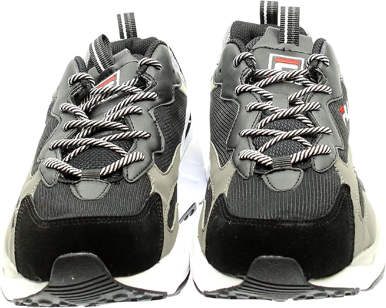 Sneakers FILA Uomo Ray Tracer 1010685 Nero Bianco
