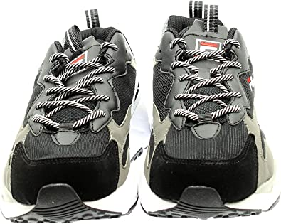 Sneakers FILA Uomo Ray Tracer 1010685 Nero Bianco: Amazon.es ...