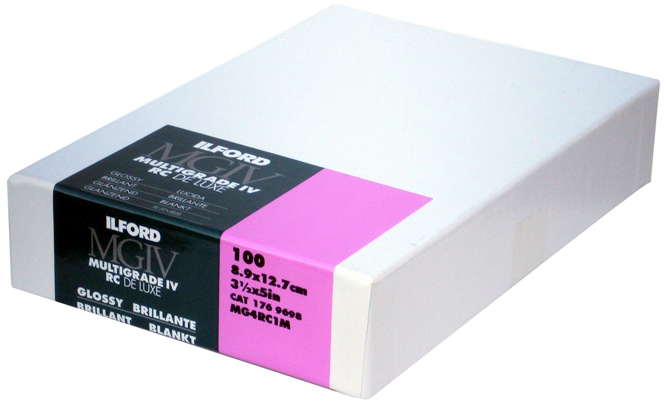 Ilford MGRC Glossy - 3.5inx5in 100 Sheets..