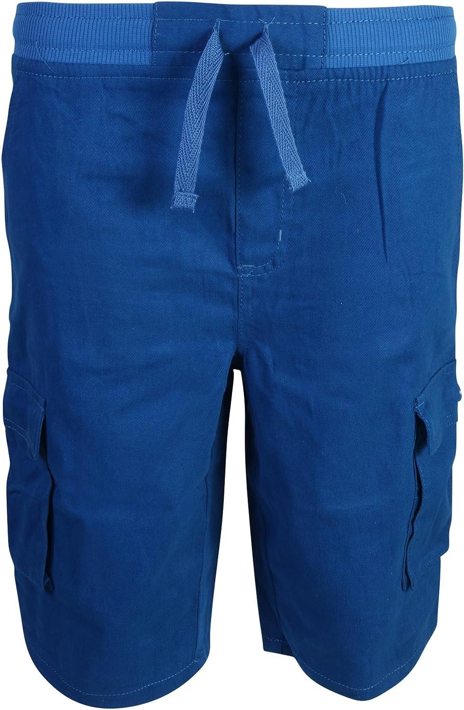 Quad Seven Boys Pull-on Twill Cargo Shorts