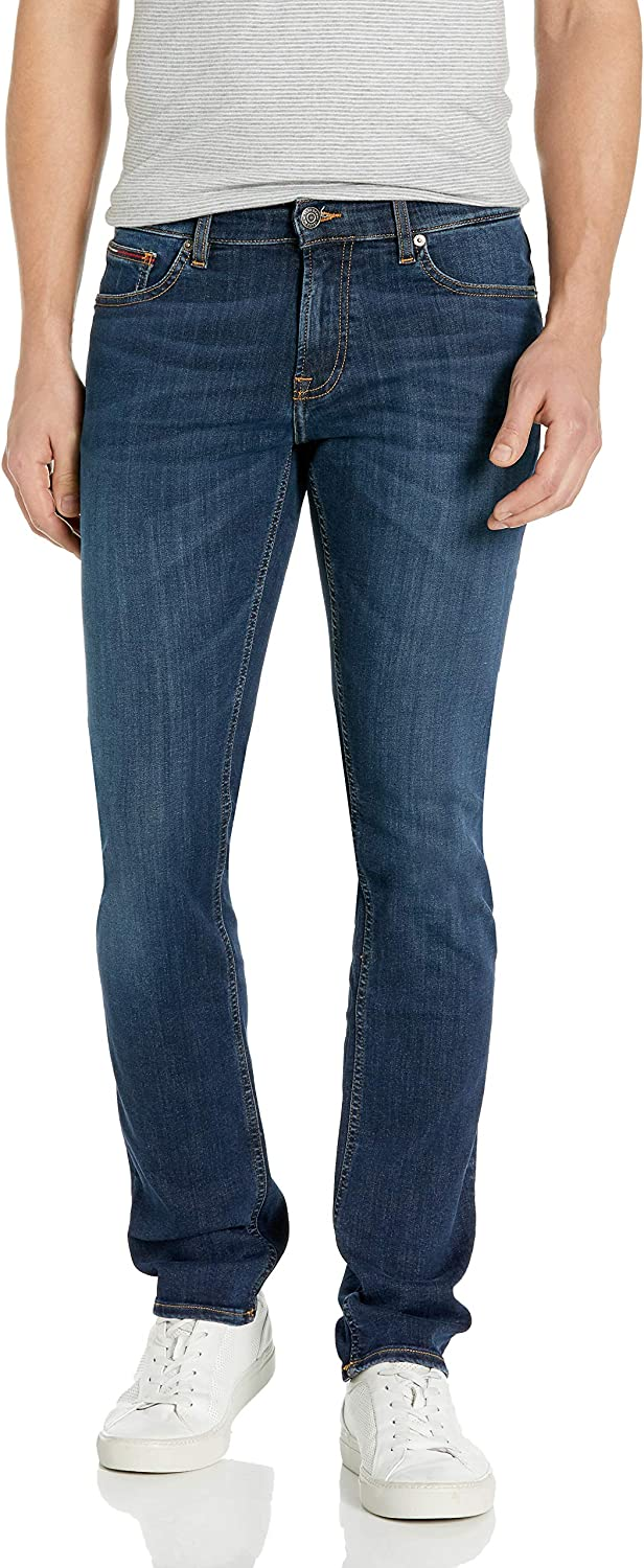 Tommy Jeans by Tommy Hilfiger Mens Standard Jeans Original Scanton Slim Fit Jeans