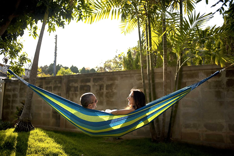 amazon com hammock sky brazilian double hammock two person bed