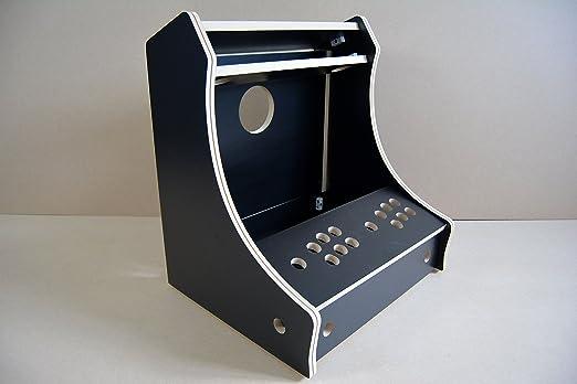 Bar Top Arcade Machine - DIY Flat Pack Kit - 18mm Black Melamine ...