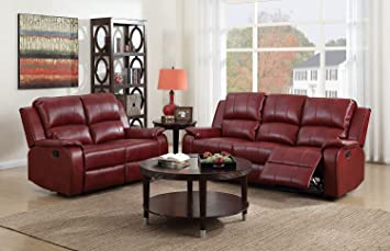 Wondrous Sc Furniture Ltd Oxblood Red Reclining 3 Seater Sofa 2 Seater Recliner Sofa Suite Jenson 3 2 Cjindustries Chair Design For Home Cjindustriesco