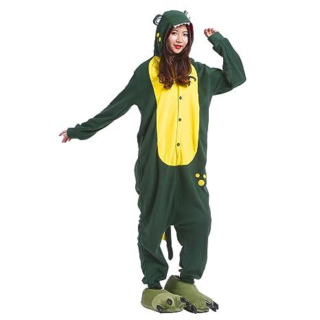 PALMFOX Ferrand Kigurumi Pijamas Unisexo Adulto Traje Disfraz Animal Adulto Animal Pyjamas Jirafa