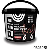 2.25KG HENCH NUTRITION PRO HI-CALORIE MASS GAINER / WEIGHT GAIN WHEY PROTEIN POWDER - STRAWBERRY