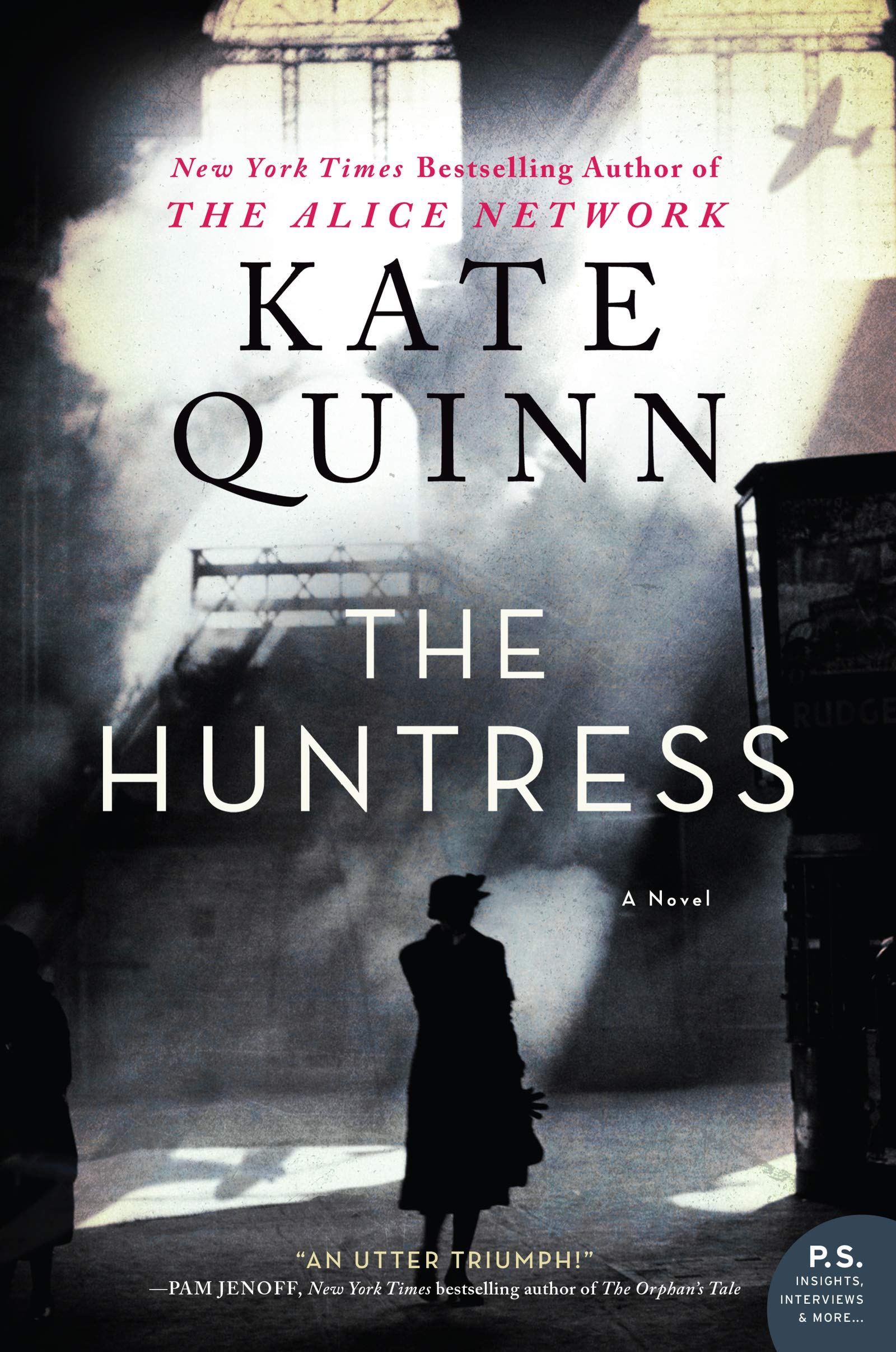 The Huntress book cover