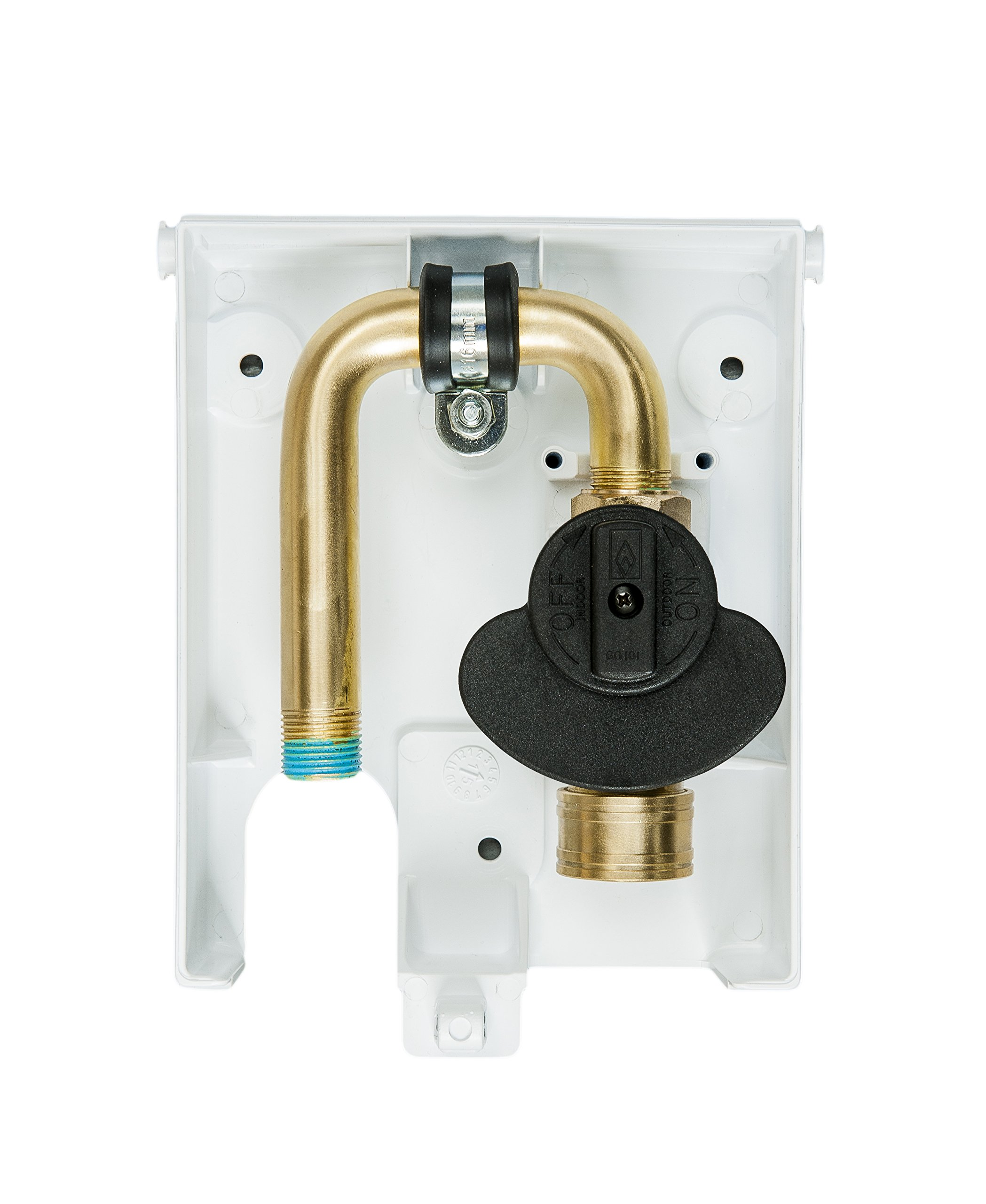 Burnaby Manufacturing G0101-6W-50-BI Gas Plug Convenience Outlet