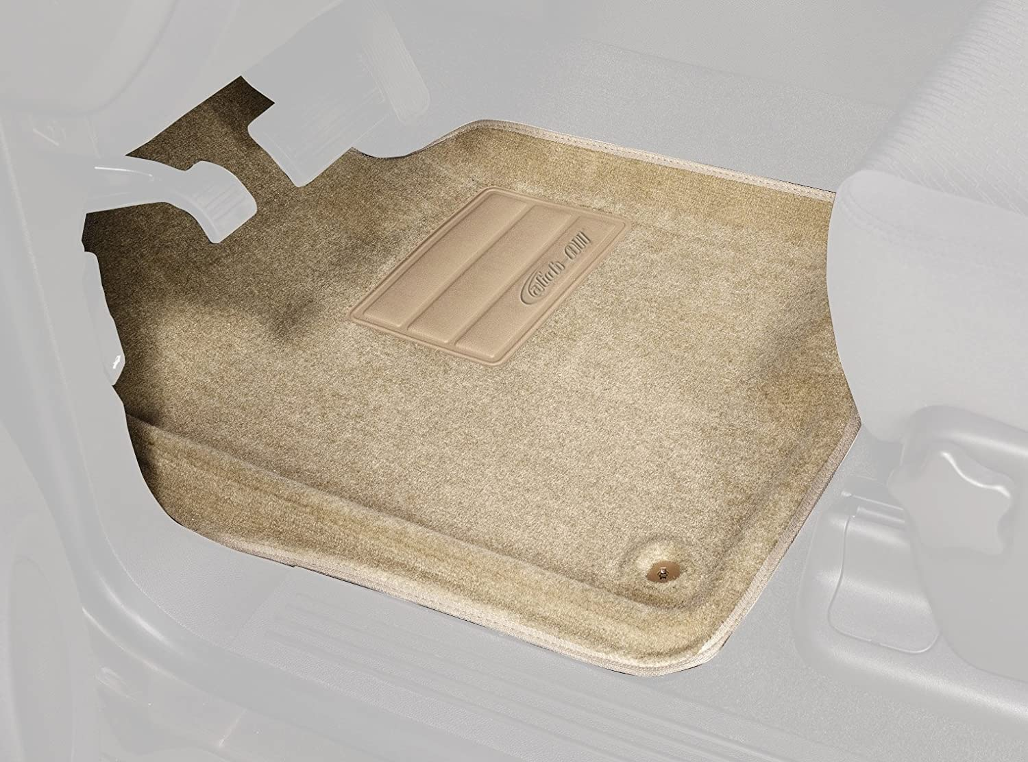Set of 2 Lund 603030 Catch-All Carpet Gray Front Floor Mat