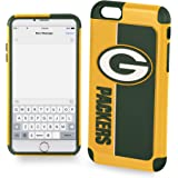 Forever Collectibles IPHNNFEXTPU6LGP Dual Hybrid Bold Series Case for iPhone 6 Plus/6S Plus,NFL Green Bay Packers