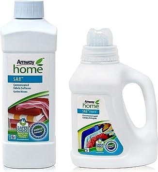 Pack Detergente Líquido Concentrado SA8 y Suavizante de Tejidos ...