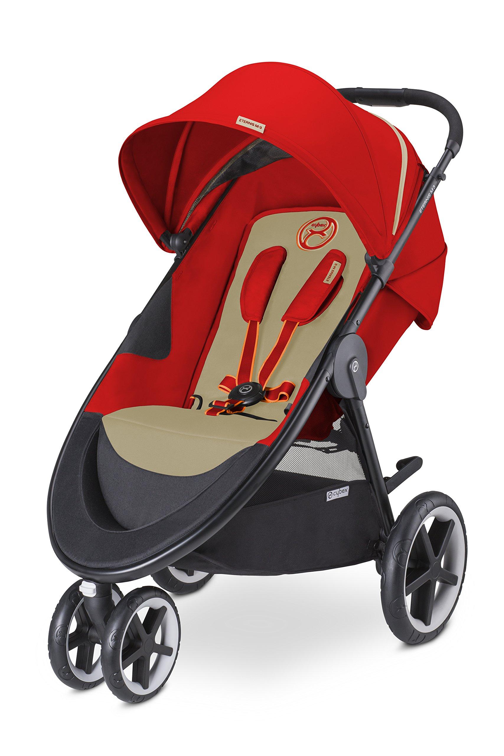 CYBEX Eternis M3 Baby Stroller, Autumn Gold