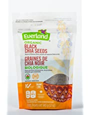 Everland Organic Chia Seeds Black, 340gm