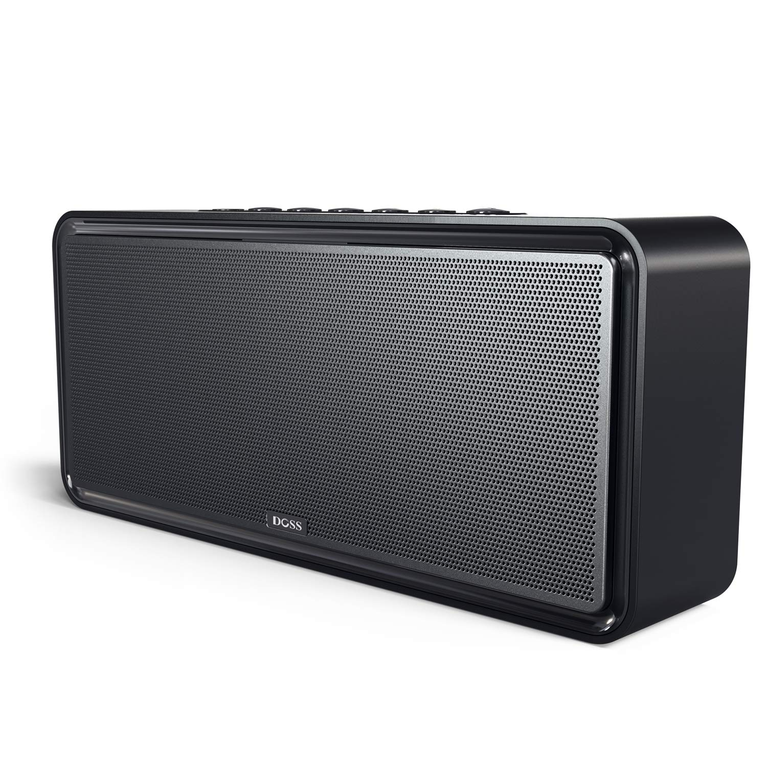 DOSS SoundBox XL 32W Bluetooth Speakers, Louder Volume 20W Driver, Enhanced Bass with 12W Subwoofer. Wireless Speaker for Phone, Tablet, TV, and More by DOSS
