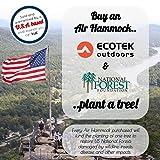 EcoTek Outdoors Premium Inflatable Air Hammock