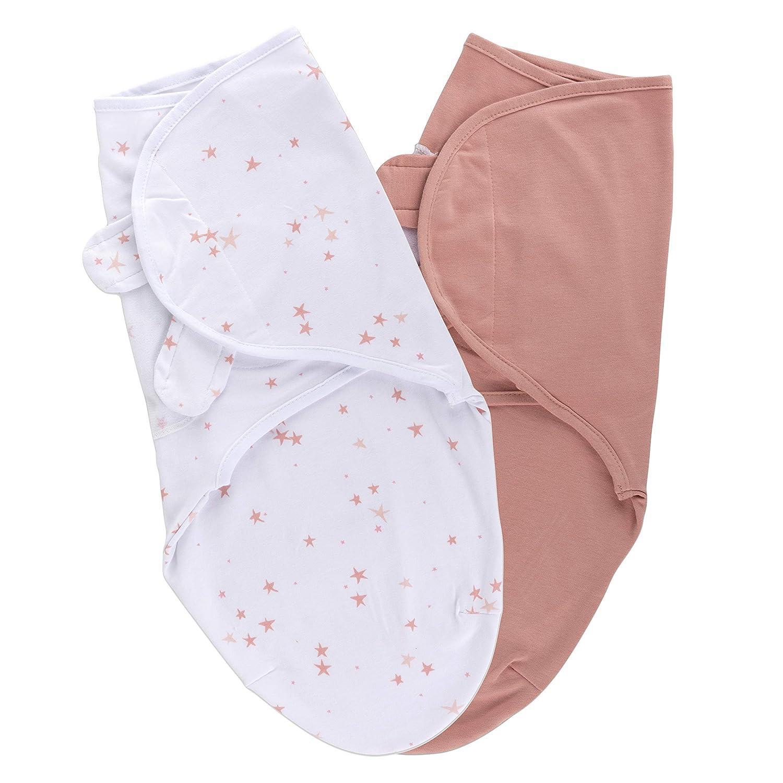 "Adjustable Swaddle Blanket Infant Baby Wrap Set 3 Pack 0-3 Months Ely/'s /"" Co."
