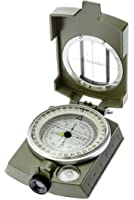 SE CC4580 MilitaryLensatic/Prismatic Sighting Compass with Pouch