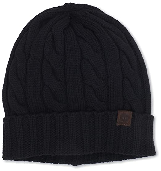 c47092f65ee Timberland Men s Merino Wool Cable Knit Cuff Beanie at Amazon Men s  Clothing store