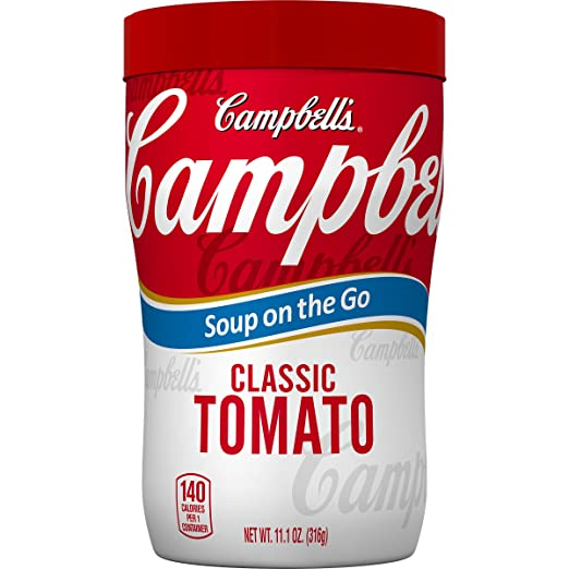 Amazon.com : Campbells Soup on the Go Classic Tomato Soup, 11.1 Ounce : Grocery & Gourmet Food