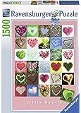 Ravensburger - 16294 - Puzzle Classique - Little Hearts - 1500 Pièces