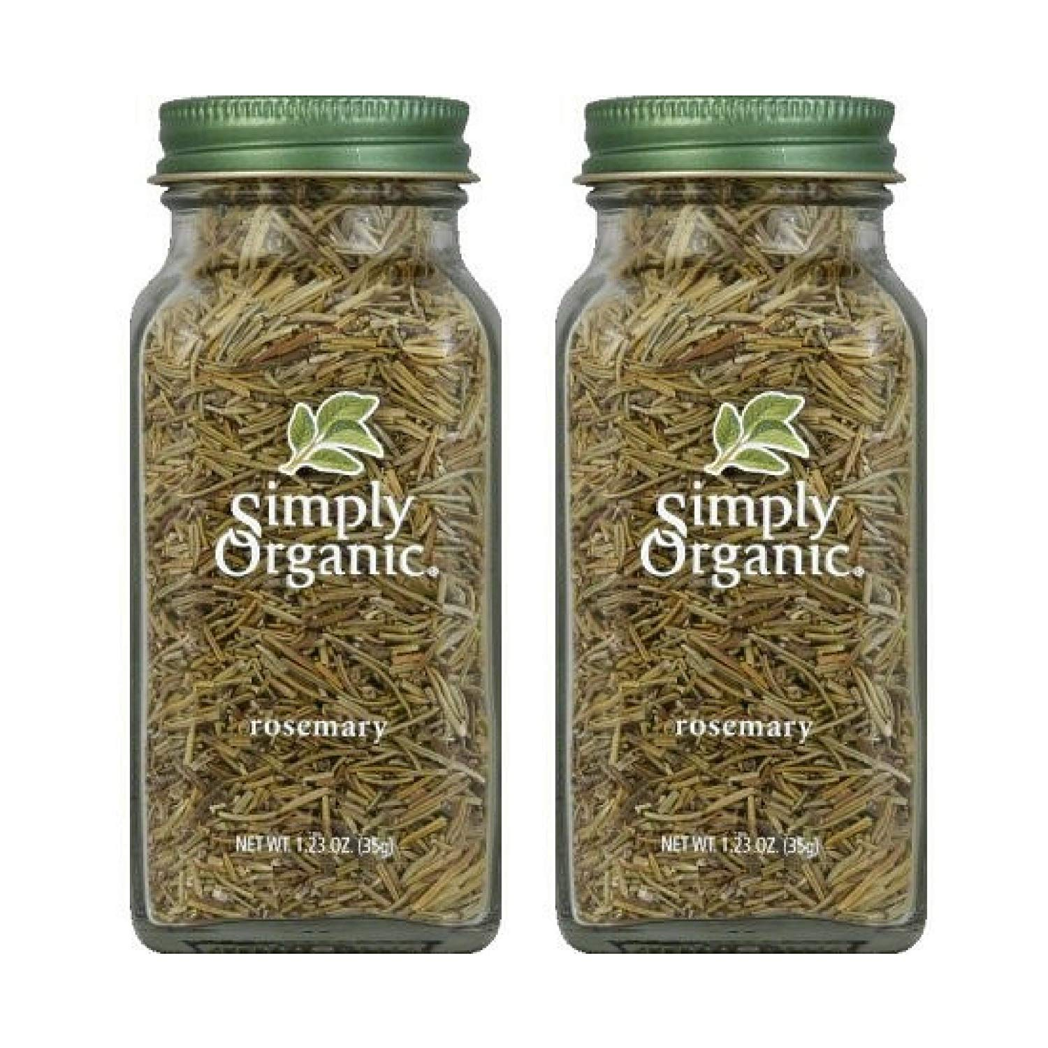 Simply Organic Rosemary, 1.23 OZ - Pack of 2