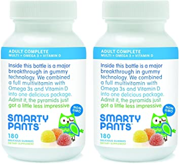 Amazon.com: SmartyPants Vitaminas para adulto ...