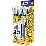 BIC Cristal Like Me - Estuche de 20 bolígrafos, color azul