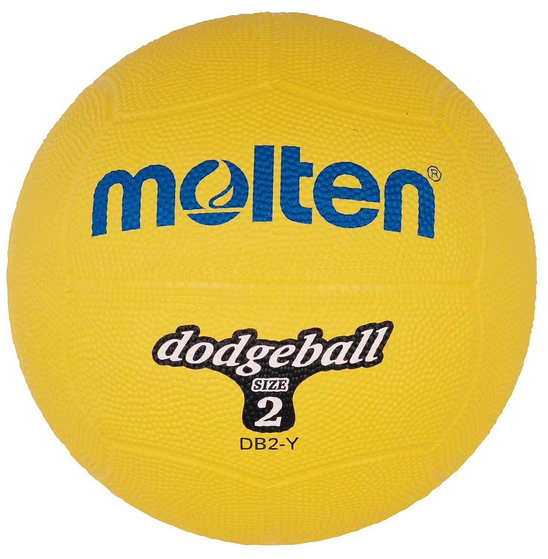 Molten Ball Dodgeball gelb, Gelb, 310g, Durchmesser 200mm, DB2-Y