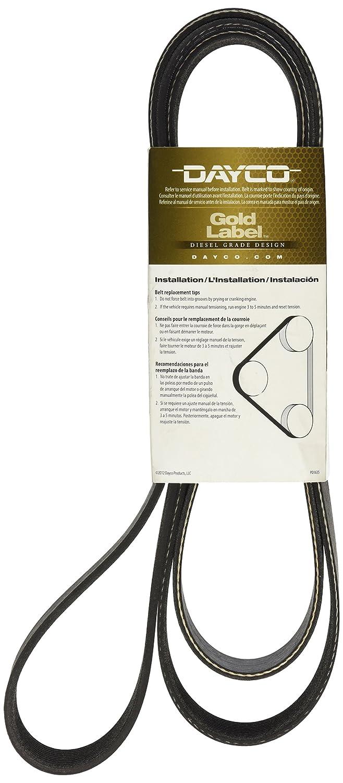 Dayco 5100855 Serpentine Belt