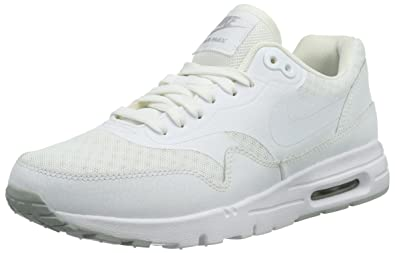 new concept dffd6 4ef65 Nike Damen Wmns Air Max 1 Ultra Essentials Sneakers, Weiß (White), 42.5