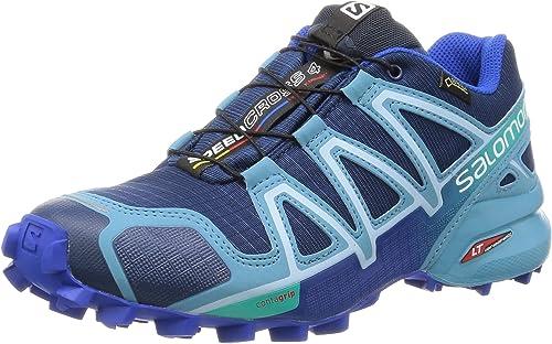 Salomon L38308200, Zapatillas de Trail Running para Mujer, Azul ...