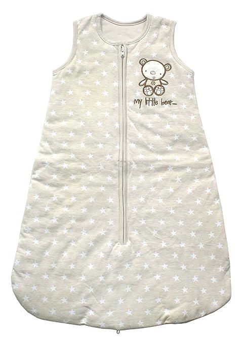 My Little Bear - Saco de dormir para bebé (unisex, 2,5 tog