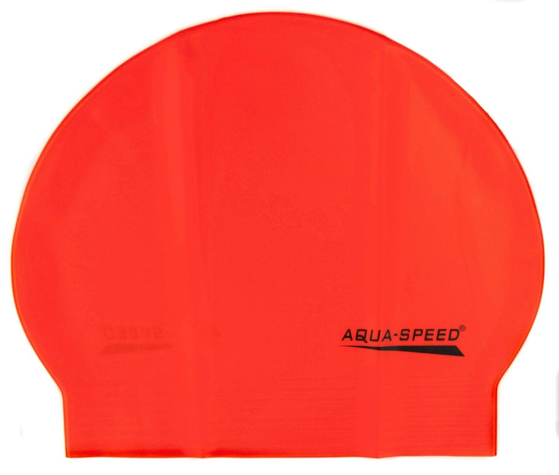 Aqua Speed® Soft Latex Gorro de baño (Fino estupendo Cómodo Suave ...
