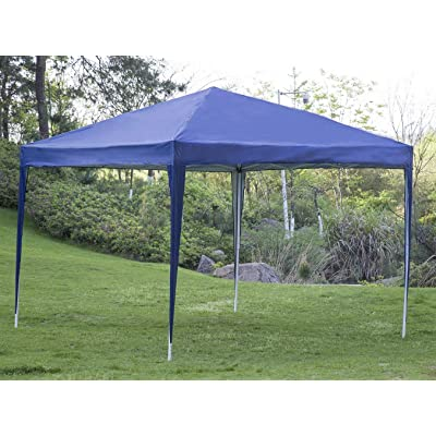 BestMassage 10'x10' EZ Pop Up Canopy Tent, Folding Party Wedding Outdoor Patio Tent Canopy Heavy Duty Gazebo Pavilion : Garden & Outdoor