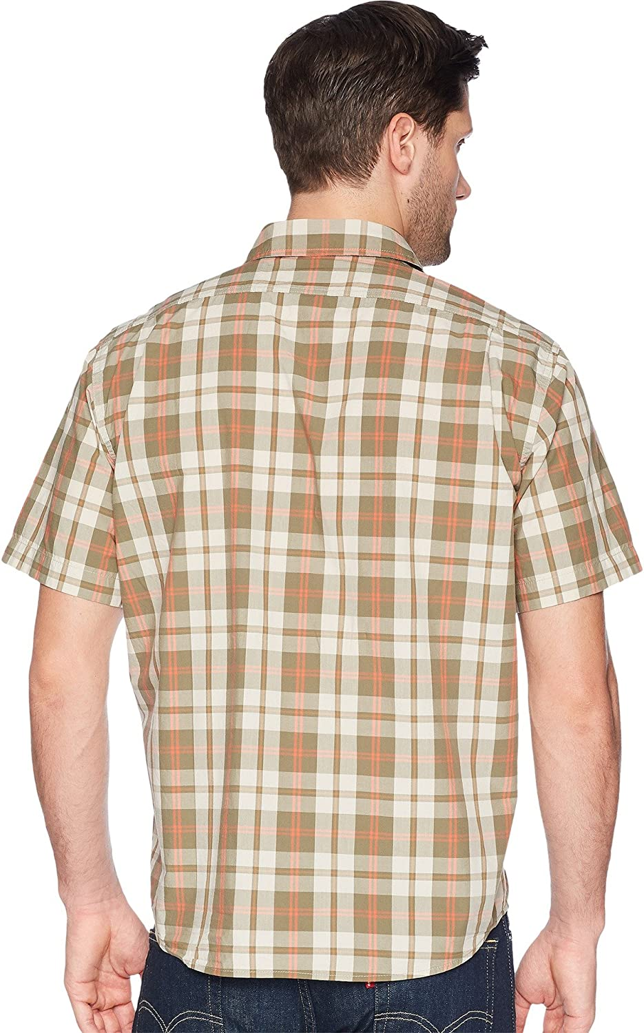 145cad0f65660 Filson Men s Short Sleeve Feather Cloth Shirt at Amazon Men s Clothing  store