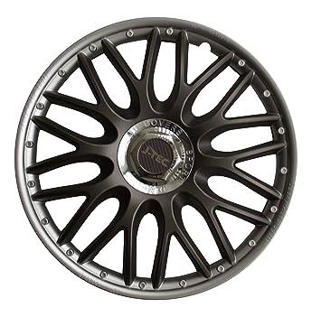 J-tec Orden SR - Tapacubos (4 unidades, embellecedor de ruedas, 15