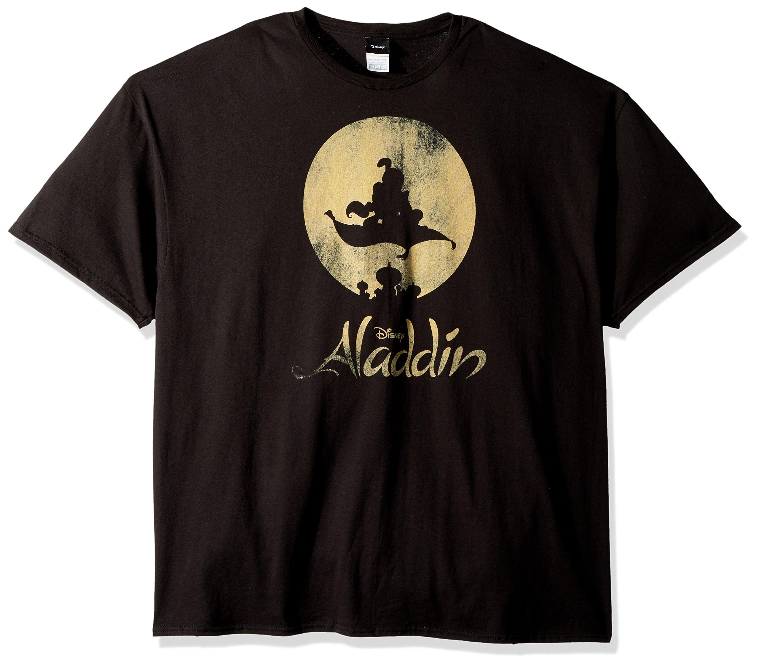 Disney S Aladdin New World Classic Logo Poster Graphic Tshirt