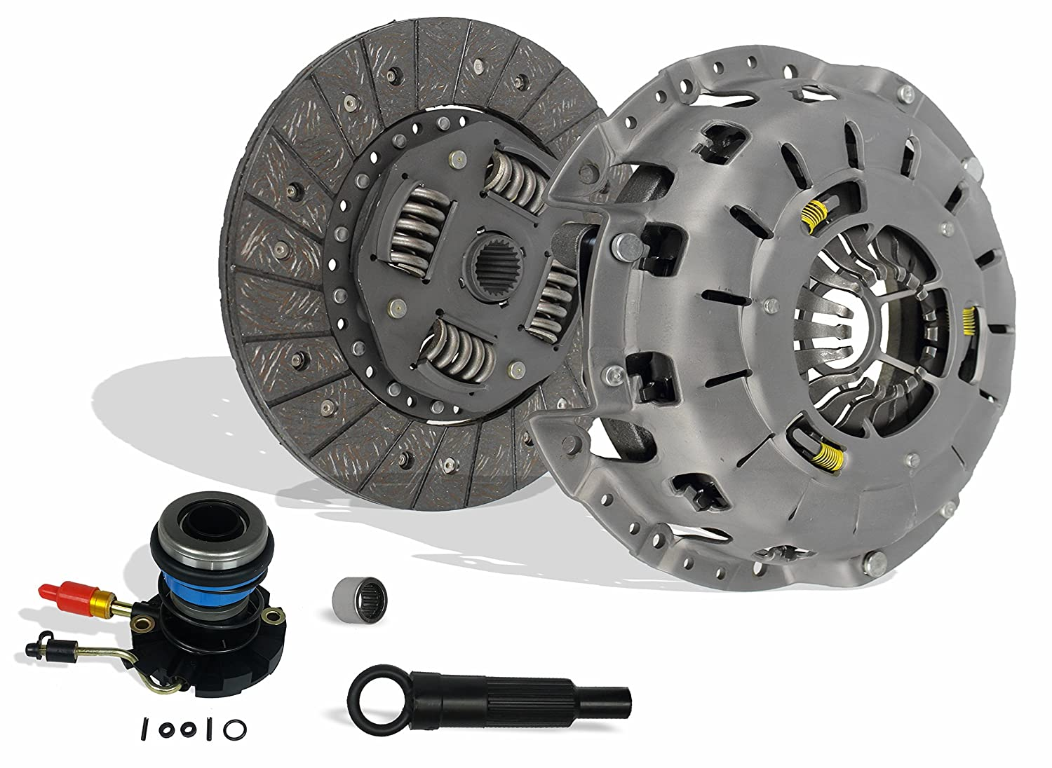 Amazon.com: Clutch And Slave Kit Works With Ford Ranger Mazda B2300 B2500  B3000 Bse Xl Xlt Limited Sport Stx Ds 1995-2011 2.3L L4 Gas Dohc 2.5L Gas  Sohc L4 ...