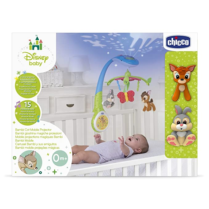 Buy Chicco Disney Cot Mobile, Multi Color Online at Low Prices in ...
