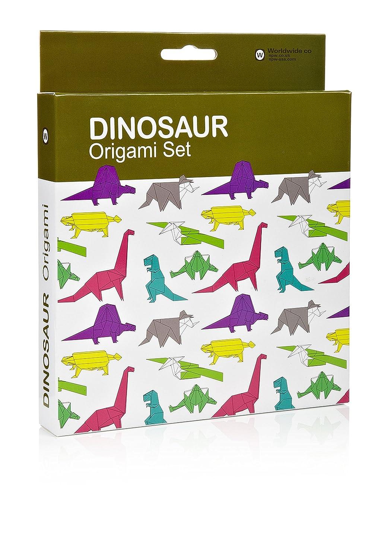 Amazon npw w7244 dinosaur origami kit jeuxipadfo Choice Image