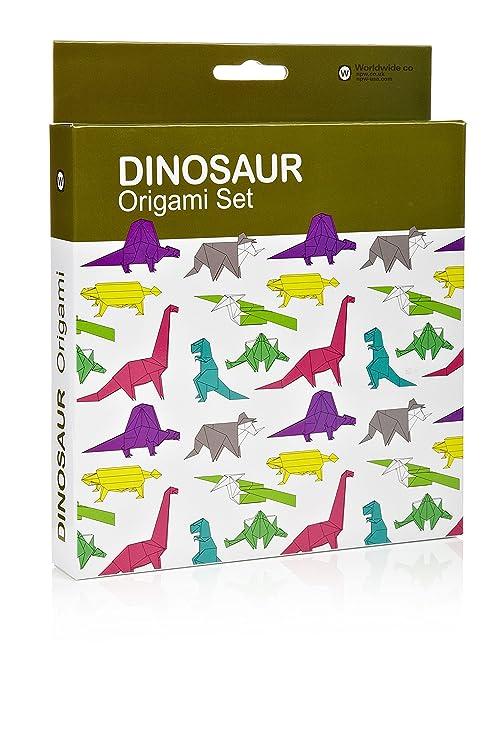 Npw Origami Lot Dinosaure Amazon Fr Jeux Et Jouets