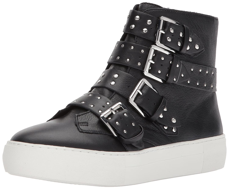 J Slides Women's Aghast Fashion Sneaker B071ZQFB8F 7 B(M) US|Black