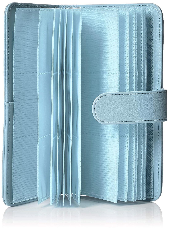 Basics Album a portafoglio per 108 foto Instax Mini colore blu ghiaccio